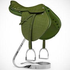 (44) Fancy - Hermes Steinkraus Mini Saddle Statue
