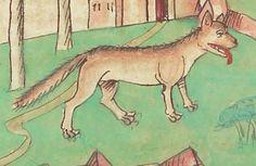 Antonius <von Pforr> Buch der Beispiele — Schwaben, um 1480/1490 Cod. Pal. germ. 85 Folio 217r Cod, Renaissance, Medieval, Moose Art, Middle, Animals, Heidelberg, Animales, Animaux