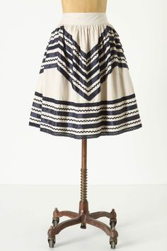 Anthropologie March 2012 - A-line skirts - classic!