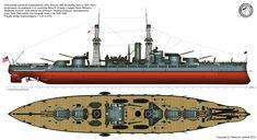 USS Arizona - Pennsylvania class battleship