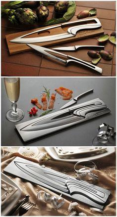 Deglon kitchen knife | Designer : Mia Shmallenbach