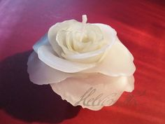 One more White Rose Candle by Helviriitta.deviantart.com on @DeviantArt