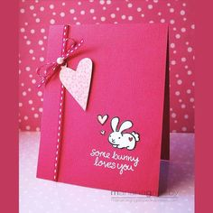 my silly valentine Valentine Love Cards, Valentine Crafts, Happy Valentines Day, Acetate Cards, Some Bunny Loves You, Wedding Anniversary Cards, Scrapbook Paper Crafts, Greeting Cards Handmade, Diy Cards