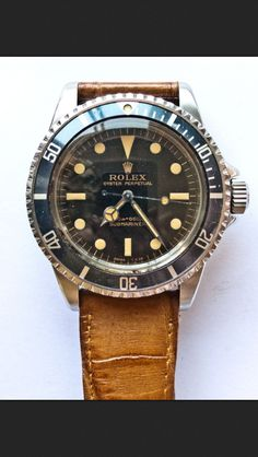 Vintage Rolex Submariner. Beautiful!