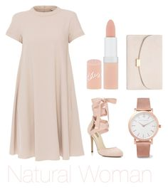 """Natural woman"" by charlotteleewerth on Polyvore featuring 'S MaxMara, Miss Selfridge, Rimmel, Larsson & Jennings and Mansur Gavriel"