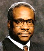 Clarence Thomas was born in Pin Point, Georgia in 1948, he is an Associate Justice in the US Supreme Court of the United States,