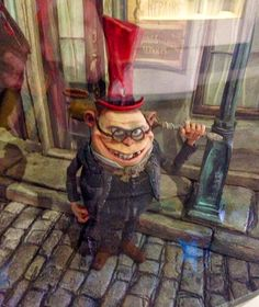 Real Stop Motion Animation: The Boxtrolls