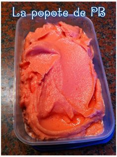 Sparkling watermelon sorbet - Meal from petit_bohnium - Trend Cake Toppings 2019 Watermelon Sorbet, Frozen Watermelon, Cake Ingredients, Fish Recipes, Cake Recipes, Desserts With Biscuits, Thermomix Desserts, Ice Cream Candy, Frozen Desserts