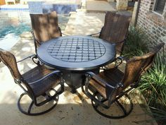 Gensun Casual Living Firepit and Seating