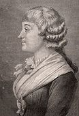 Madame Roland. Vicountess Jeanne-Marie Roland de la Platiere, 1754-1793.