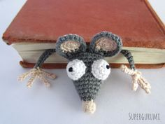 Flat Rat Bookmark Pattern -free