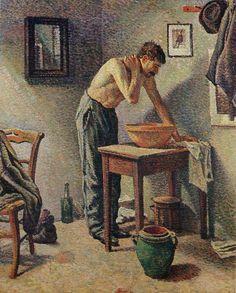 Maximilien Luce, La toilette, 1887