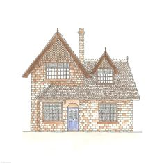 23. Chim-Chimney House | Rebecca Horne, illustration