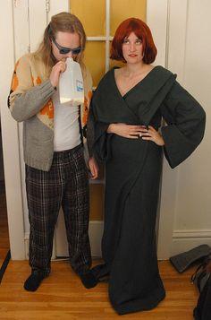 Maude Lebowski and the DUDE #costume