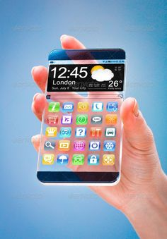 Smartphone with transparent screen in human hands. ...  abstract, blank, blue, business, button, clear, communication, computer, concept, connection, creative, design, device, digital, display, electronic, fashion, frame, future, futuristic, gadget, glass, hand, icons, ideas, innovation, internet, mobile, modern, new, office, pad, pattern, person, phablet, phone, screen, smart, smartped, smartphone, tablet, tech, technology, telephone, touch, touchscreen, transparent, unusual, web