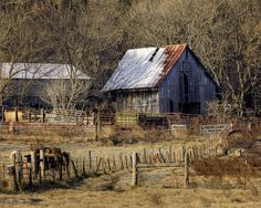 Old Barns Gallery | old boxley barn in winter 61615 right i drove past this old barn for a ...