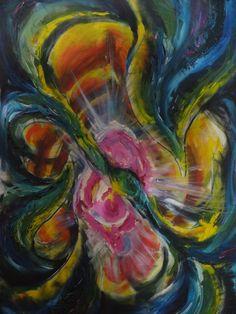 Título : Dentre Dimensões- 84 x 57cm Técnica - óleo sobre tela 2013