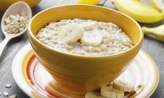 Oatmeal is extremely useful for weight loss and is very healthy. Therefore here 10 tasty . - Oatmeal is extremely useful for weight loss and is very healthy. So here are 10 delicious oatmeal r - Baby Food Recipes, Healthy Recipes, Low Sodium Recipes, Healthy Habits, Breakfast Recipes, Good Food, Food And Drink, Healthy Eating, Rice Cereal