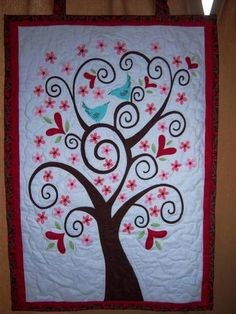 I had fun with this whimsy tree need to make another one for me now LOL