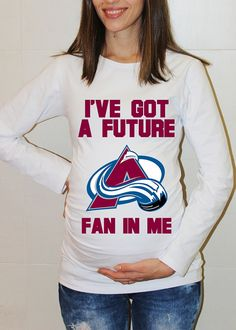 Colorado Avalanche Baby Colorado Avalanche Long by FreshBreak