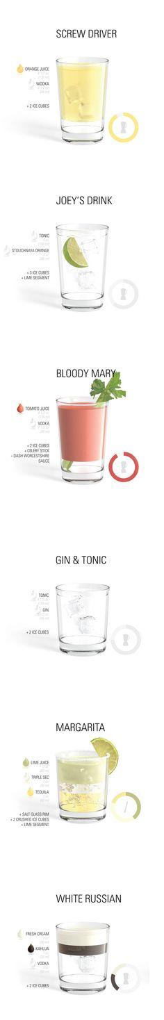 cocktail et graphisme