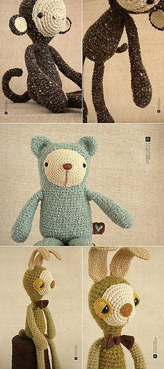 cute - Les Peluches d'Eveluche Etsy http://www.etsy.com/shop/eveluche