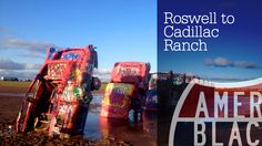 Cadillac Ranch - Amarillo, Texas Route 66 From Roswell New Mexico