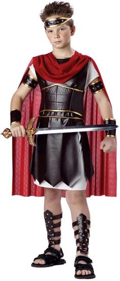 Child's Deluxe Gladiator Costume - Candy Apple Costumes - Greek