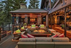 Contemporary Deck Ideas-Fire Features-006-1 Kindesign