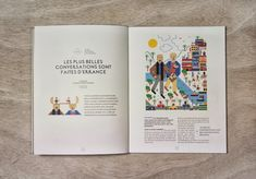 Magazine Design Inspiration - MagSpreads: Influencia / La conversation - Magazine Design