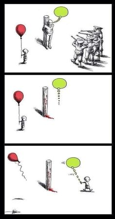You can kill the person, but not the idea.