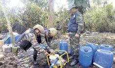 Narcos del Vraem usan ácido fórmico para aumentar producción de cocaína