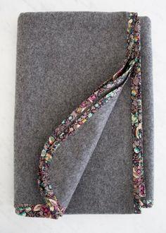 DIY: Pure + Simple Wool Blankets