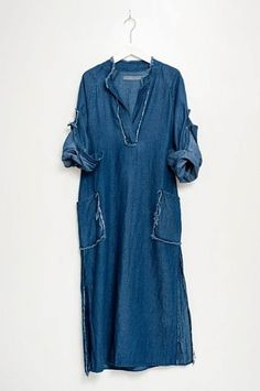 Raquel Allegra tunic dress by Humanoid Denim Fashion, Boho Fashion, Fashion Outfits, Womens Fashion, Elisa Cavaletti, Ethno Style, Quoi Porter, Mode Jeans, Denim Ideas
