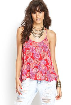 Abstract Y-Back Cami | FOREVER21 - 2000121263