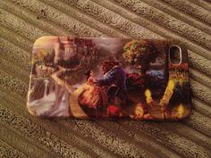 Thomas Kinkade's Beauty & The Beast Iphone Case =]