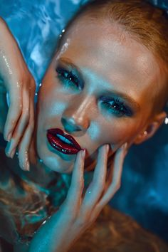 Wet Beauty Makeup Artists Meet » Underwater Beauty Makeup: Kosovan Tanya  ...