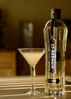St. Germain elderflower liqueur. So delicious!
