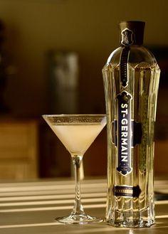 St. Germain elderflower liqueur. So delicious!