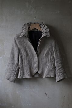 260c7a4d4258 sweet with a touch of silly. gray linen.. (Color aproximately equal  Turbulence