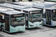 China's Shenzhen city electrifies all 16,359 of its public buses The city has transformed the entire bus fleet.   If anyone says that sustainable public transport is too expensive, tell them to look at Shenzhen.