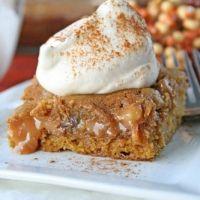 Ooey-gooey Caramel Pumpkin Blondes-pumpkin Dessert Recipe