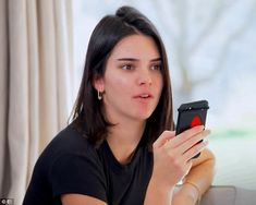 Party plans: Kendall was clashing with sister Kylie over plans for a friend's party Kardashian Memes, Kim Kardashian Kylie Jenner, Kendall Jenner Outfits, Kendall And Kylie Jenner, Kris Jenner, Mean Girls, Hair Cuts, Victoria's Secret, Hairstyle