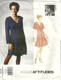 Vogue 1413 Mother of the Bride Dress Sewing by ClassyPatterns, $12.50