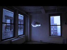 """These lamps will light your room up with proof. The imitation clouds produce the effect of a thunderstorm without having to actually deal with the weather. Called """"The Cloud"""" by its creators, the interactive lamp and speaker system recreate the sounds and sights of a thundercloud while you stay dry. Using motion detectors, the cloud detects your presence and creates a special light show based on your movement. You can also sync the speakers with Bluetooth to enjoy some tunes while you watch."""