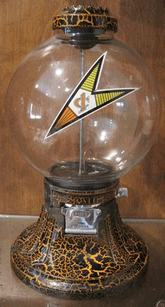 Old Antique Simpson Climax Peanut Gumball Machine Candy Nut Penny