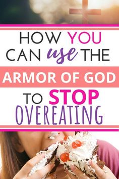 As a Christian, you have a Biblical help to fight your food cravings! You can stop eating too much with these tips taken straight from the Word of God! You CAN learn to end the overeating from the Bible. #overeating #stopovereating #howtostopovereating #diet #Christian #Bible #weigthloss #Biblestudy Christian Food, Christian Faith, Christian Gifts, Christian Living, Spiritual Warfare, Weight Loss Inspiration, God Prayer, Prayer Room, Kirchen
