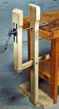 Rock-Solid Workbench Plans - Workshop Solutions Plans, Tips and Tricks - Woodwork, Woodworking, Woodworking Plans, Woodworking Projects Woodworking Bench Plans, Learn Woodworking, Woodworking Workshop, Woodworking Projects Diy, Wood Projects, Tool Bench, Diy Bench, Bench Vise, Bois Diy