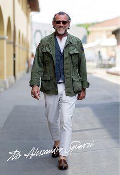 Mens Fashion Rugged – The World of Mens Fashion Mature Mens Fashion, Old Man Fashion, Military Fashion, Italian Mens Fashion, Fashion Sale, Fashion Outlet, Paris Fashion, Fashion Fashion, Runway Fashion