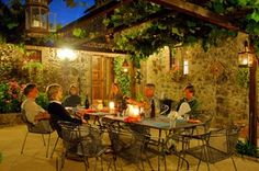 Nice Tuscan Patio